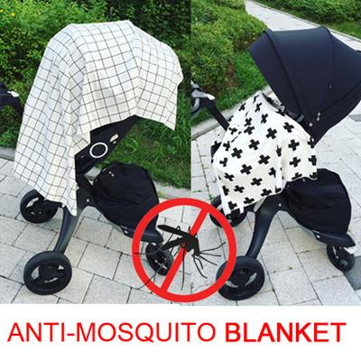anti-mosquito-blanket-cross-checker-k039