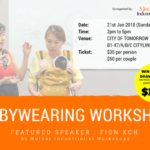 Baby Wearing Workshop
