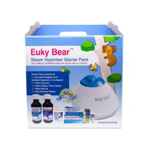 Euky Bear Steam Vaporiser Starter Pack