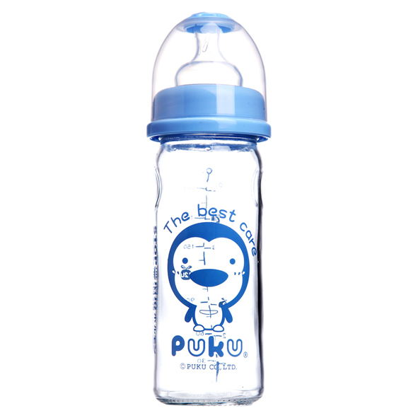 Puku Glass Feeding Bottle