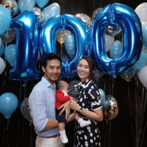 Baby Qi 100th day