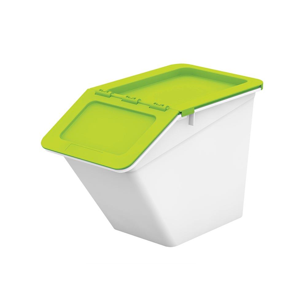 Livinbox Small Pelican Stackable Storage Bins Green Singapore