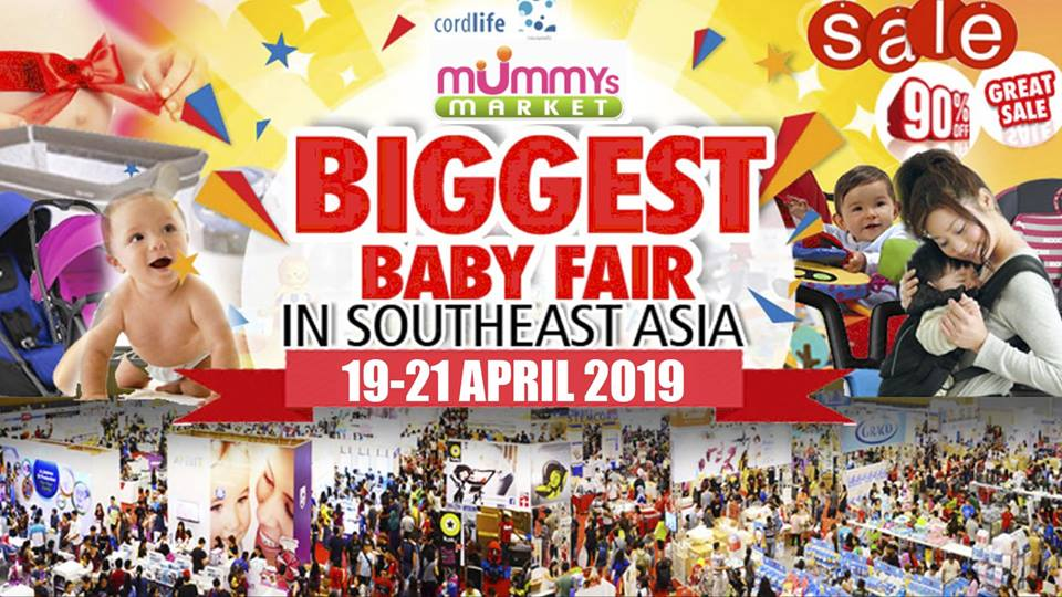 Mummy's Market Baby Fair Apr 2019