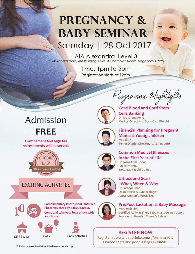 Pregnancy and Baby Seminar 2017