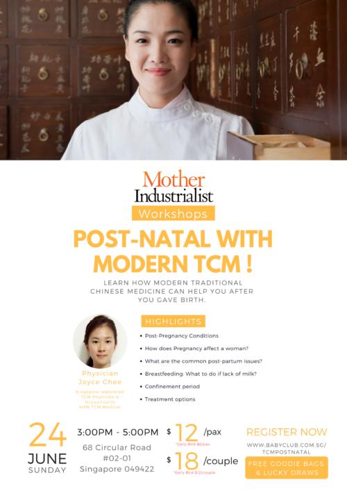 Postnatal with modern TCM